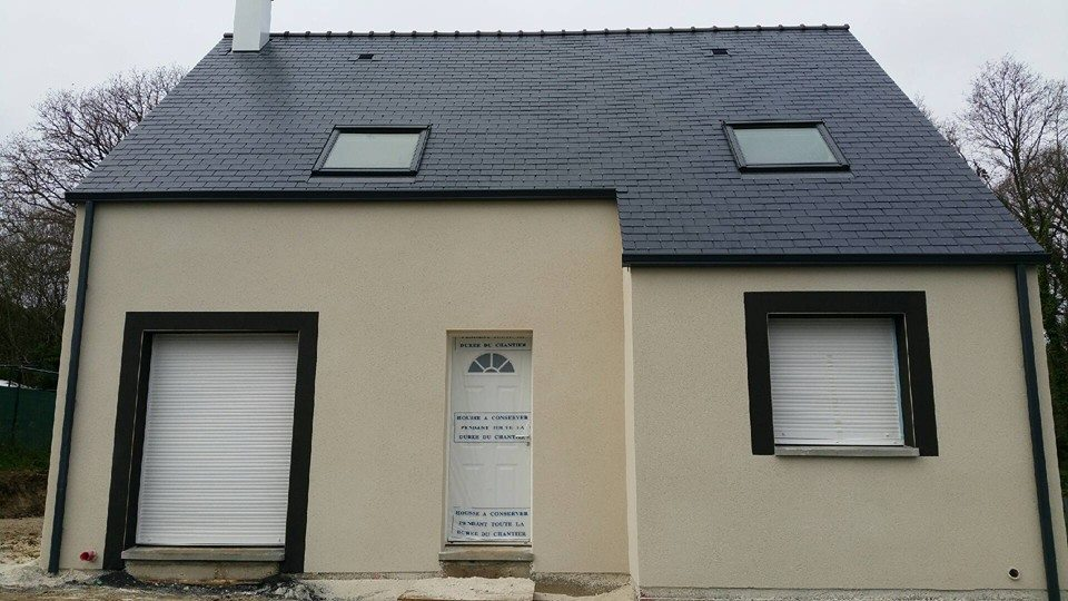 Construction d 39 une maison contemporaine en loire for Financement construction maison